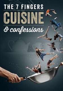 Post image for Los Angeles Theater: CUISINE & CONFESSIONS (The 7 Fingers at The Broad Stage in Santa Monica)
