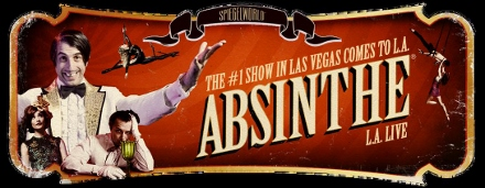 Post image for Los Angeles Cabaret Review: ABSINTHE (Spiegelworld Tent at L.A. Live)