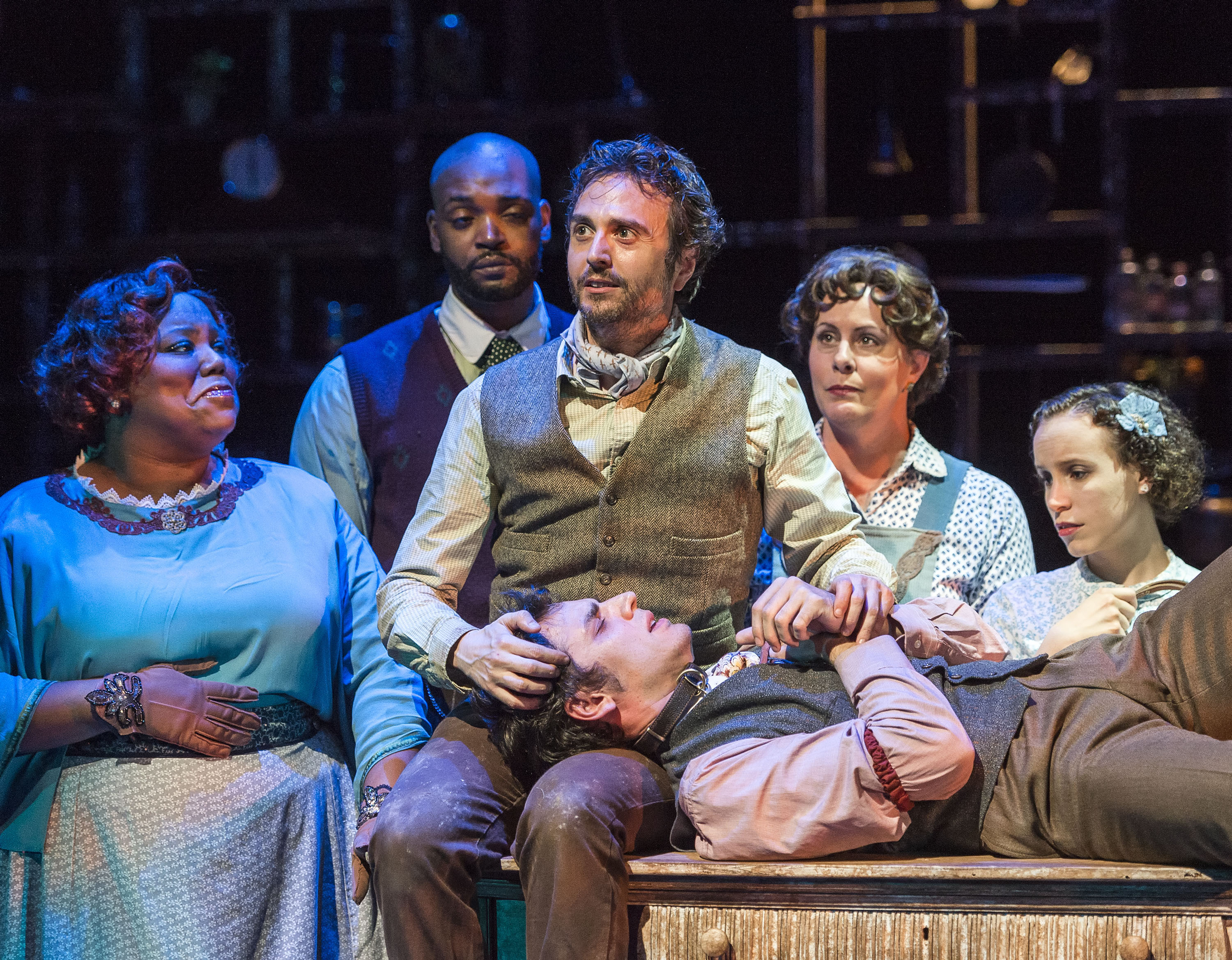theater review failure a love story coeurage theatre in los photos by craig schwartz