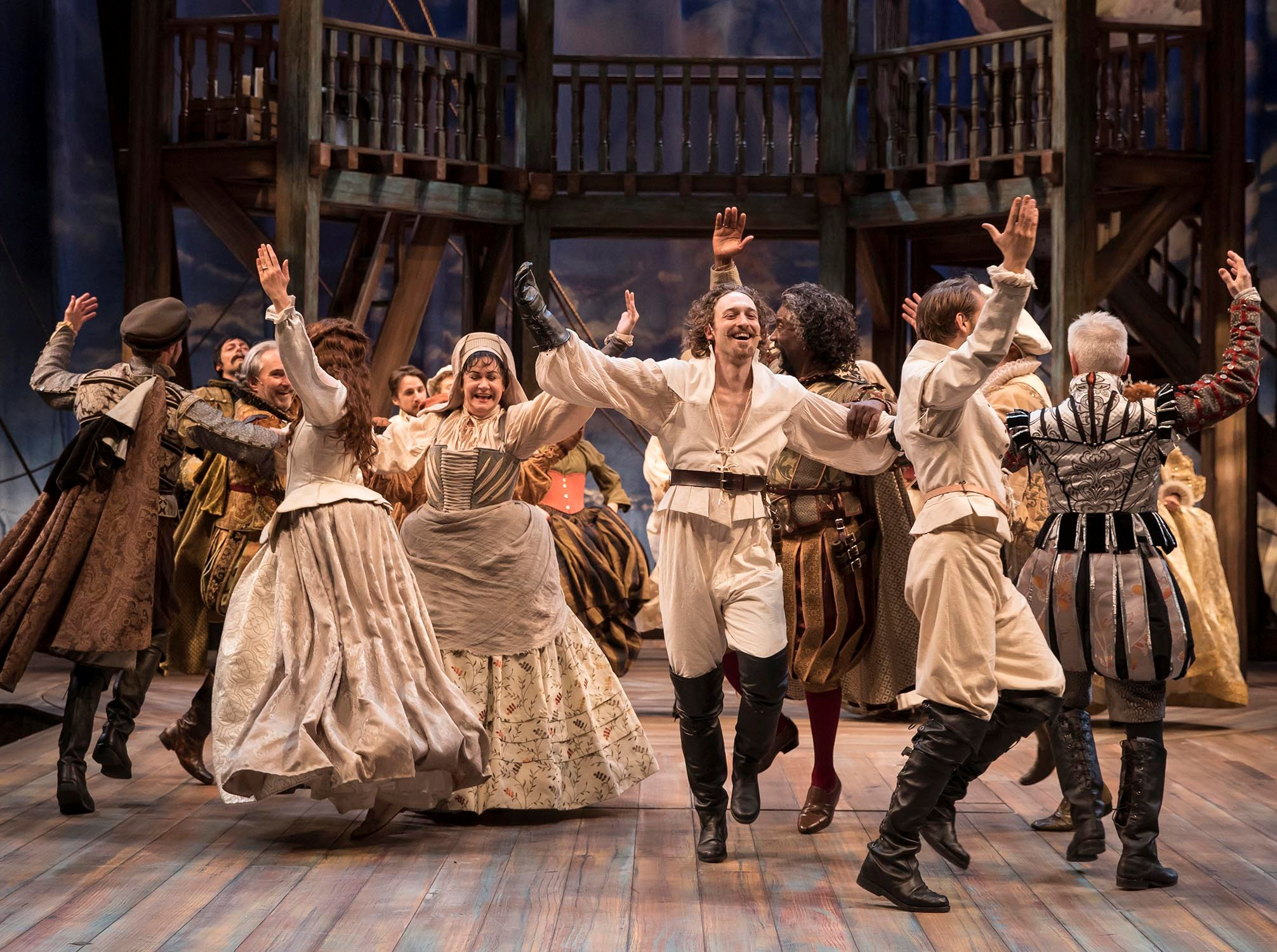 theater review shakespeare in love chicago shakespeare  using retro contrivances and mistaken identities of olympic proportions shakespeare in love represents a flagrant case of life imitating art and vice