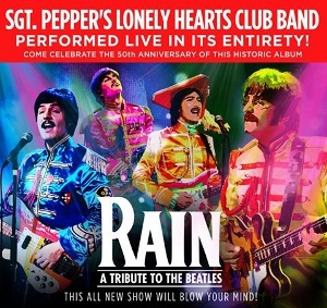Post image for Theater Review: RAIN: A TRIBUTE TO THE BEATLES (U.S. Tour at the Oriental Theatre in Chicago)