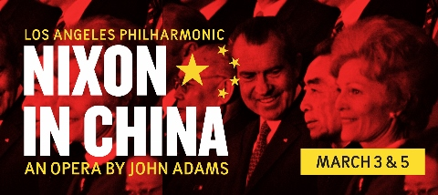 Post image for Los Angeles Opera Review: NIXON IN CHINA (Los Angeles Philharmonic at Walt Disney Concert Hall)