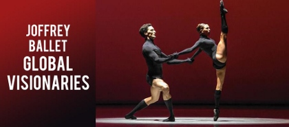 Post image for Chicago Dance Review: GLOBAL VISIONARIES (Joffrey Ballet at the Auditorium Theatre)