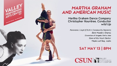Post image for Los Angeles Dance Review: MARTHA GRAHAM AND AMERICAN MUSIC (Valley Performing Arts Center)