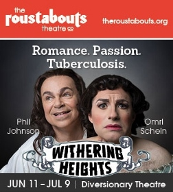 Post image for San Diego Theater Review: WITHERING HEIGHTS (The Roustabouts at Diversionary Theatre)