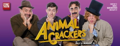 Post image for San Diego Theater Review: ANIMAL CRACKERS (Cygnet Theatre Company)
