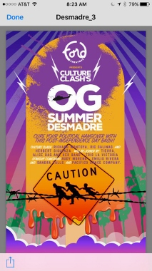 Post image for Los Angeles Theater, Music & Dance Preview: CULTURE CLASH'S OG SUMMER DESMADRE (John Anson Ford Amphitheatre in Hollywood)