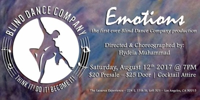 Post image for Los Angeles Dance Review: EMOTIONS (Blind Dance Company)