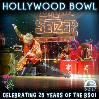 Post image for Los Angeles Music Preview: THE BRIAN SETZER ORCHESTRA – 25th ANNIVERSARY SHOW! (Hollywood Bowl)