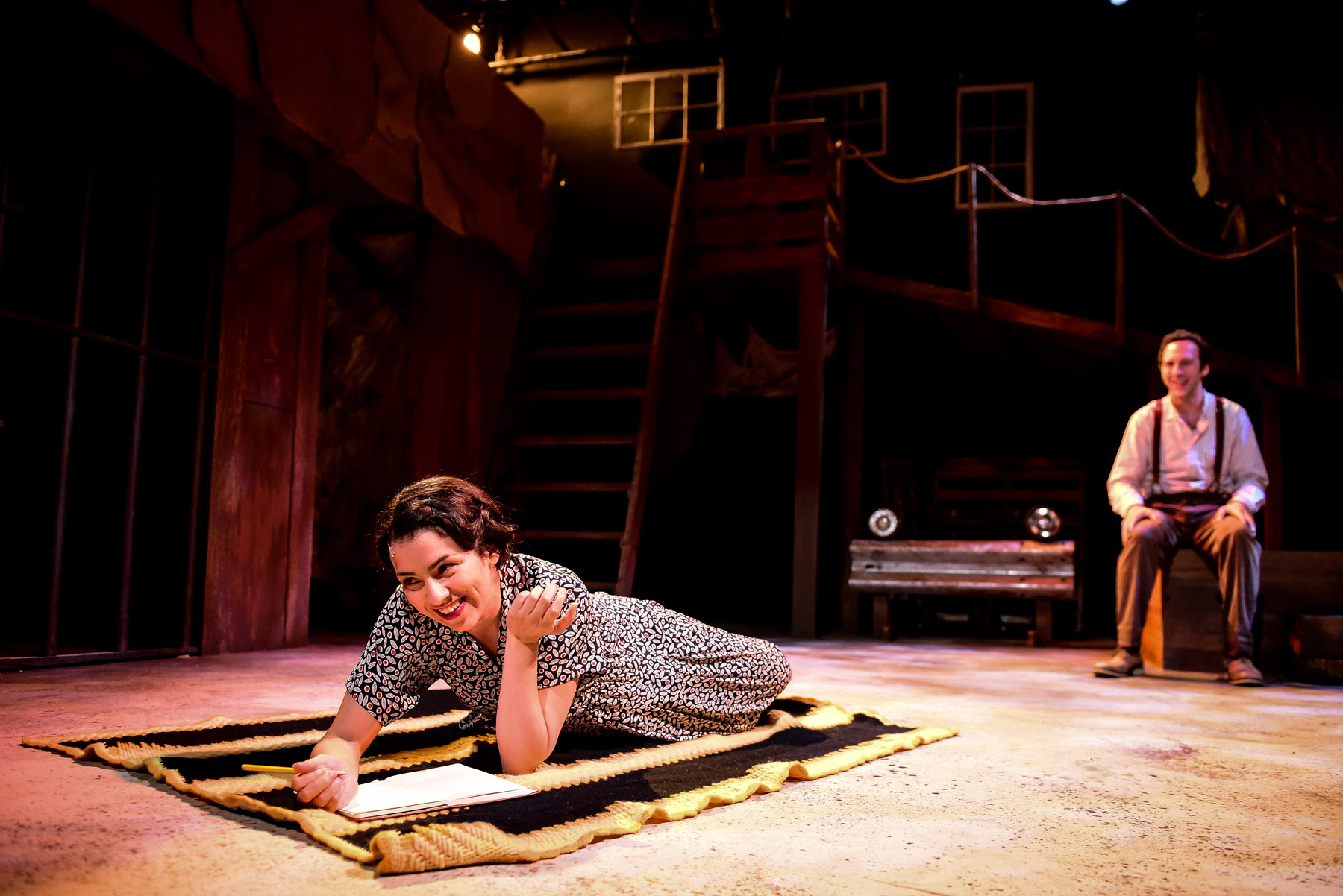 Dallas Car Show >> Theater Review: BONNIE AND CLYDE (Kokandy Productions in Chicago)