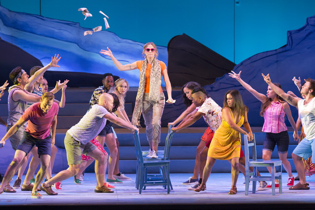 Theater Review Mamma Mia Hollywood Bowl