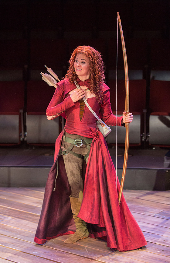 Daniel Reece as Robin Hood. Meredith Garretson as Maid Marian  sc 1 st  Stage and Cinema & Theater Preview: KEN LUDWIGu0027S ROBIN HOOD! (The Old Globe in San Diego)