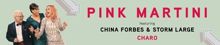 Post image for Los Angeles Music Preview: PINK MARTINI WITH CHINA FORBES & STORM LARGE, AND CHARO (Hollywood Bowl)