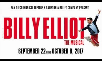 Post image for San Diego Theater Review: BILLY ELLIOT THE MUSICAL (San Diego Musical Theatre and California Ballet Company at Spreckels Theatre)