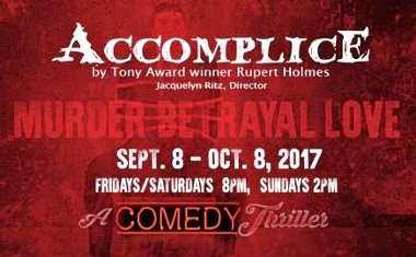 Post image for San Diego Theater Preview: ACCOMPLICE (Scripps Ranch Theatre)