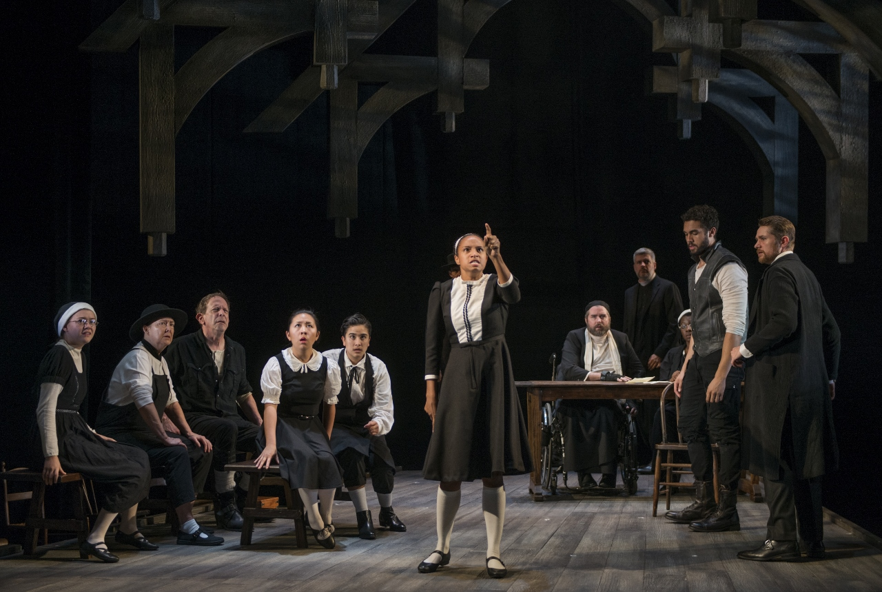 the crucible and fear The crucible is a play written in 1953 by arthur miller it is a dramatization of salem witch trials fear, superstition, mass hysteria and denunciation were common in that historical period as well as in usa of mccarthyism times, when communists were treated like witches.