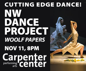 Post image for Los Angeles Dance Preview: WOOLF PAPERS (NW Dance Project at the Carpenter Center in Long Beach)