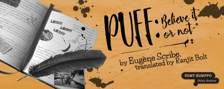 Post image for Chicago Theater Review: PUFF: BELIEVE IT OR NOT (Remy Bumppo Theatre Company)