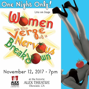 Post image for Los Angeles Theater Review: WOMEN ON THE VERGE OF A NERVOUS BREAKDOWN (Musical Theatre Guild)
