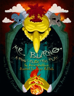Post image for Los Angeles Theater Review: MR. BURNS, A POST-ELECTRIC PLAY (Sacred Fools Theatre Company)