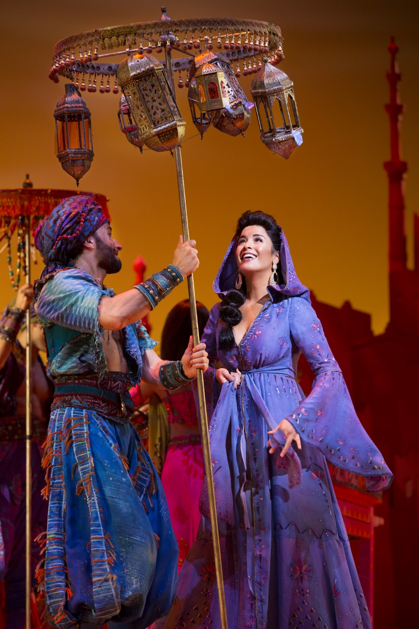 Theater Review Aladdin National Tour At The Hollywood