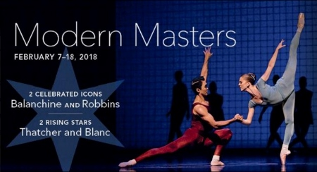 Post image for Chicago Dance Review: MODERN MASTERS (Joffrey Ballet at the Auditorium Theatre)