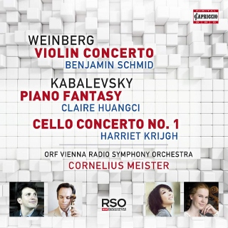 Post image for CD Review: WEINBERG Violin Concerto KABALEVSKY Piano Fantasy & Cello Concerto No. 1 (Cornelius Meister & the ORF Vienna Radio Symphony Orchestra)