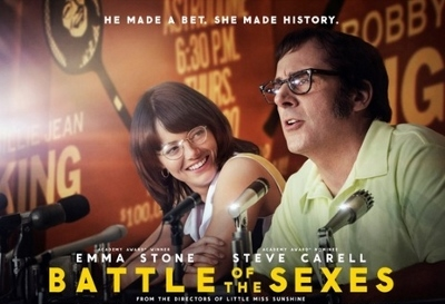 Post image for Film Review: BATTLE OF THE SEXES (directed by Jonathan Dayon and Vaerie Faris)
