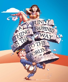 Post image for Theater Review: A FUNNY THING HAPPENED ON THE WAY TO THE FORUM (North Coast Rep in San Diego)