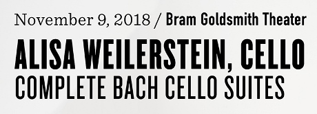 Post image for Music Preview: ALISA WEILERSTEIN: COMPLETE BACH CELLO SUITES (The Wallis in Beverly Hills)