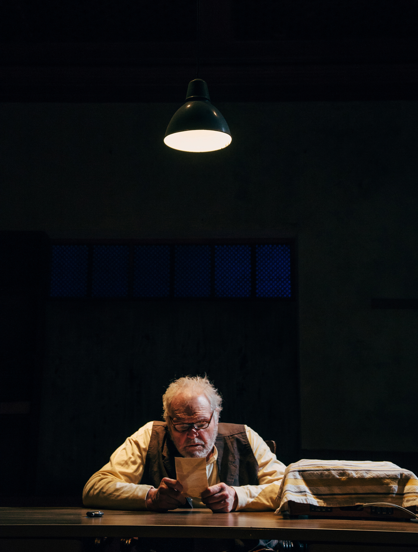 Theater Review: HUGHIE / KRAPP'S LAST TAPE (Geffen Playhouse)