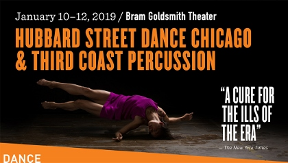 Post image for Dance & Music Preview: HUBBARD STREET DANCE CHICAGO & THIRD COAST PERCUSSION (The Wallis)