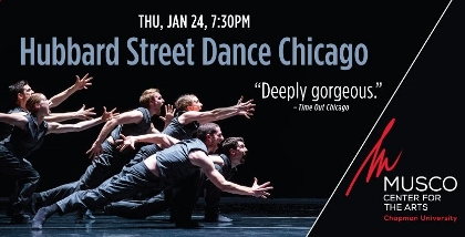 Post image for Dance Preview: HUBBARD STREET DANCE CHICAGO (Musco Center for the Arts)