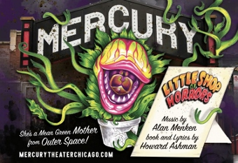 Post image for Chicago Theater Review: LITTLE SHOP OF HORRORS (Mercury Theater Chicago)