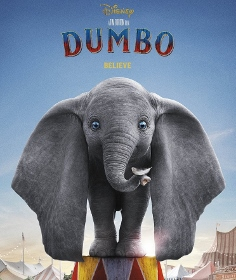 Post image for Film Review: DUMBO (directed by Tim Burton)