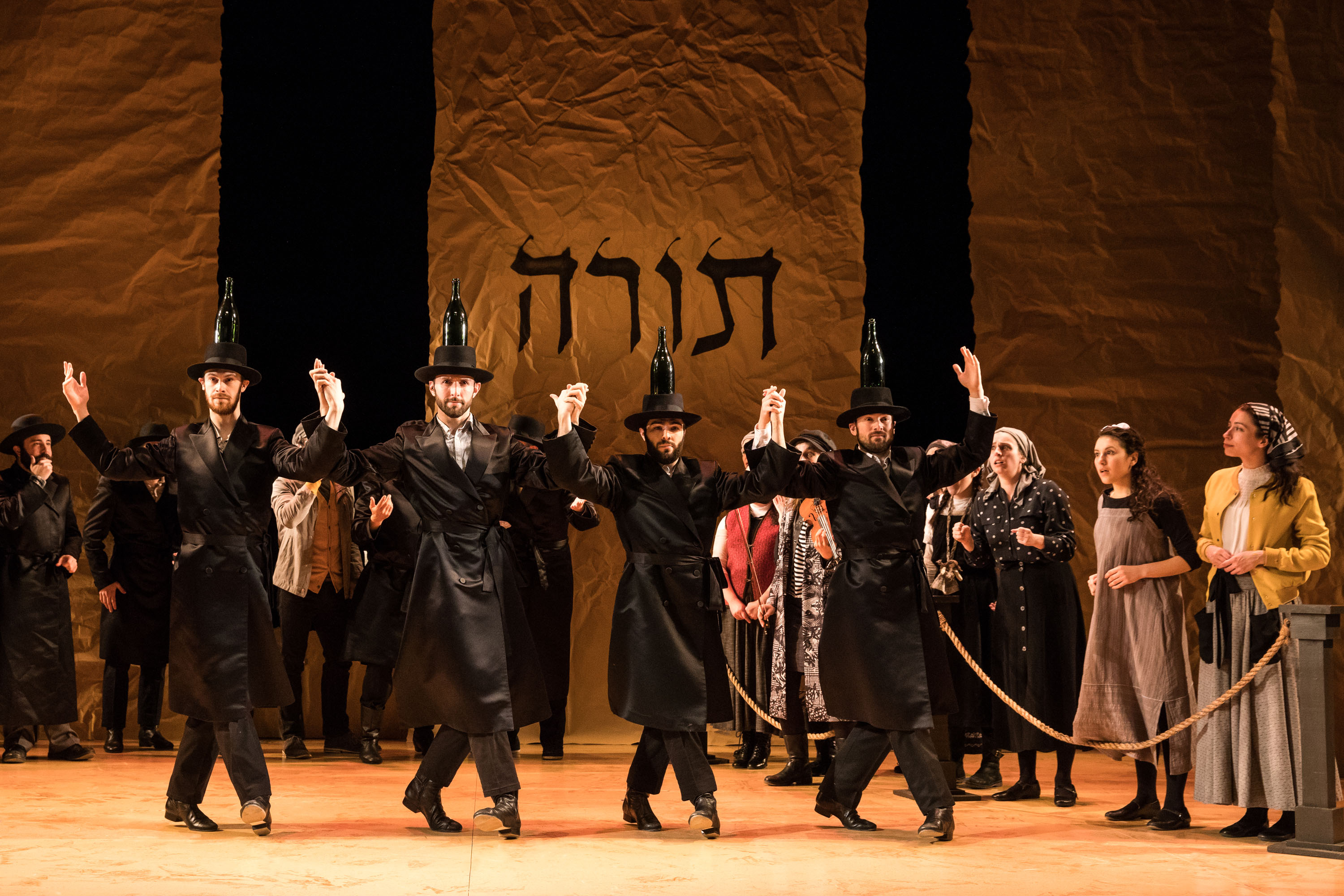 Off Broadway Review Fiddler On The Roof In Yiddish Stage 42