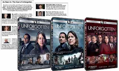 Post image for DVD Review: UNFORGOTTEN (Seasons 1-3, PBS)