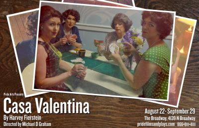 Post image for Theater Review: CASA VALENTINA (Pride Films and Plays in Chicago)