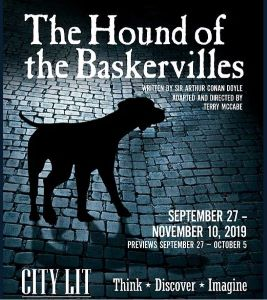 Post image for Theater Review: THE HOUND OF THE BASKERVILLES (City Lit in Chicago)