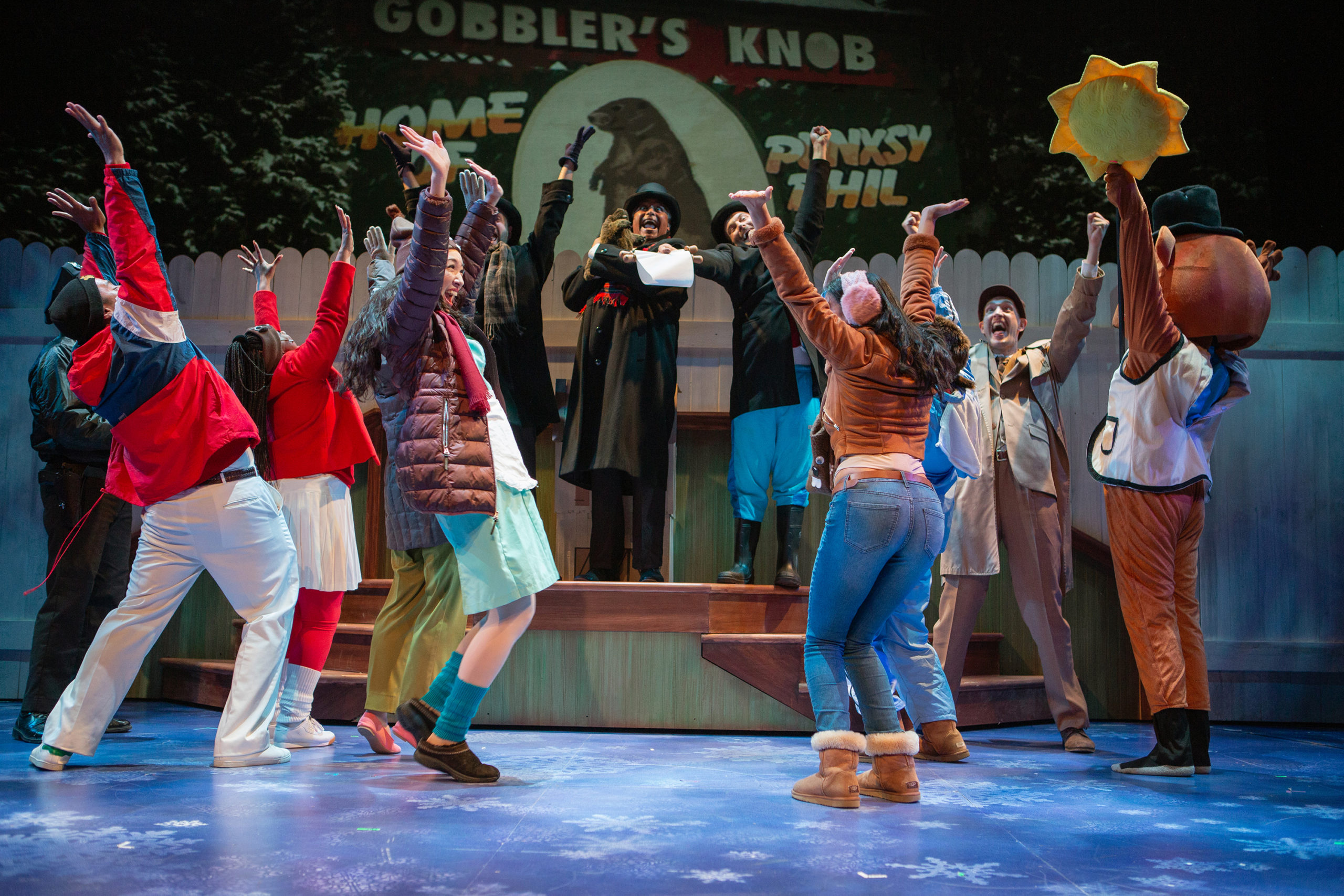 Theater Review Groundhog Day The Musical San Francisco Playhouse
