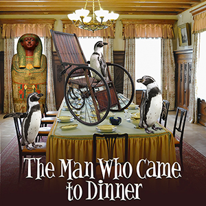 Post image for Theater Review: THE MAN WHO CAME TO DINNER (Group Rep at the Lonny Chapman Theatre)