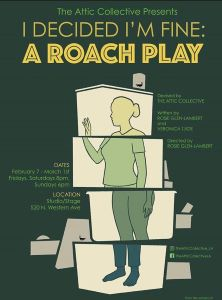 Post image for Theater Review: I DECIDED I'M FINE: A ROACH PLAY (The Attic Collective at Studio/Stage in Hollywood)