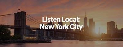 Post image for Music Preview: LISTEN LOCAL: NEW YORK CITY (Spotify)