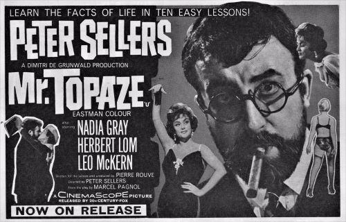Post image for Film Preview: MR.TOPAZE (directed by Peter Sellers) (Virtual Exclusive Engagement by American Cinematheque)