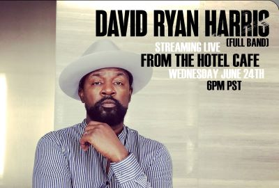 Post image for Music Preview: DAVID RYAN HARRIS WITH FULL BAND (Streaming Live From the Hotel Café)