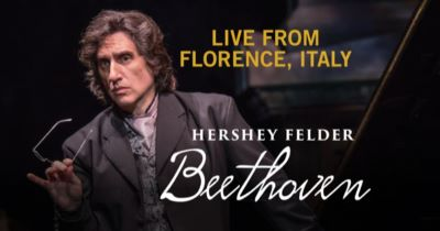 Post image for Theater Preview: BEETHOVEN — LIVE FROM FLORENCE (Hershey Felder)