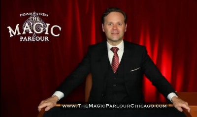 Post image for Theater Preview: THE MAGIC PARLOUR AT HOME (New Virtual Show by Chicago's Dennis Watkins)