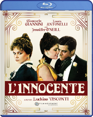 Post image for DVD Review: L'INNOCENTE (directed by Luchino Visconti; digital restoration from Film Movement)