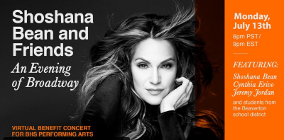 Post image for Concert Preview: AN EVENING OF BROADWAY (Shoshana Bean and Friends on YouTube)