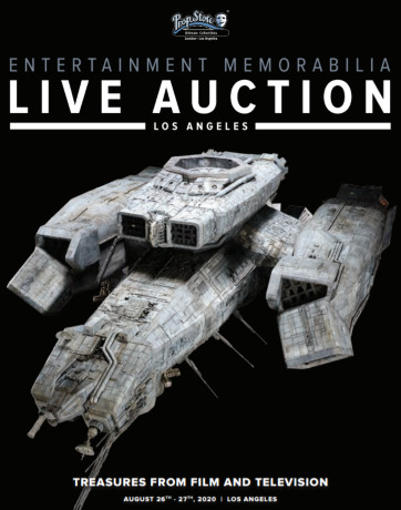 Post image for Art and Film Preview: ORIGINAL STAR WARS PROPS (Prop Store's Entertainment Memorabilia Live Auction August 26 and 27, 2020)
